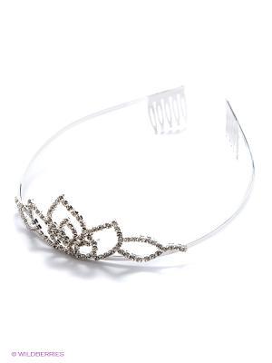 Диадема Lovely Jewelry. Цвет: серебристый