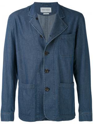 Куртка palmers Artist Oliver Spencer. Цвет: синий