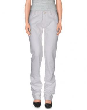 Повседневные брюки ALEXIS MABILLE. Цвет: белый
