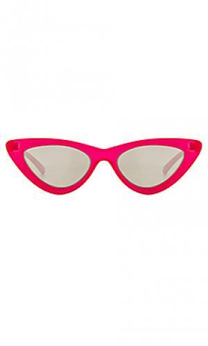 Солнцезащитные очки the last lolita Le Specs. Цвет: красный