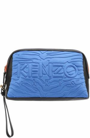 Косметичка Kombo Kenzo. Цвет: синий