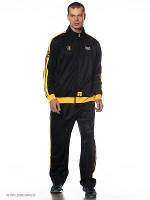 Спортивный костюм Everlast. Цвет: черный, желтый
