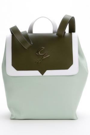 Рюкзак Gattinoni. Цвет: зеленый