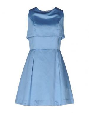 Короткое платье NORA BARTH. Цвет: небесно-голубой