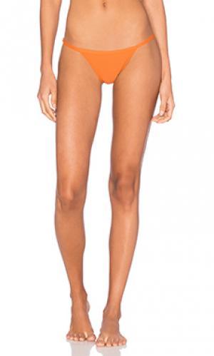 Низ бикини ally Salt Swimwear. Цвет: оранжевый
