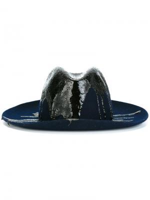 Шляпа Masculine Super Duper Hats. Цвет: синий