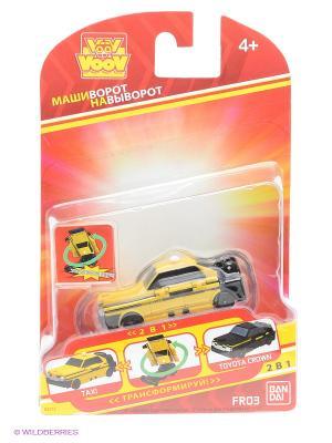 Игрушка VooV Toyota Crown -  Такси Bandai. Цвет: желтый