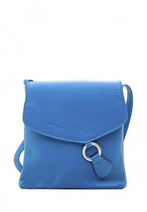 Сумка D.Angeny. Цвет: голубой