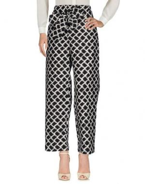 Повседневные брюки EMANUEL UNGARO. Цвет: стальной серый