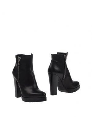 Полусапоги и высокие ботинки LES TROIS GARÇONS. Цвет: черный