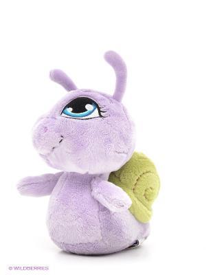 Мягкая игрушка Фиолетовая улитка NICI. Цвет: сиреневый