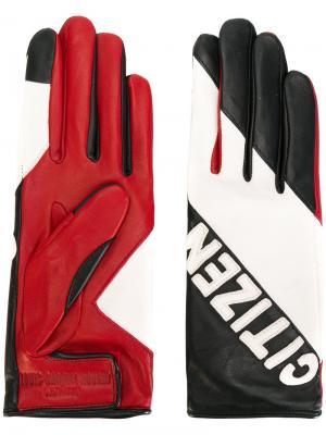 Перчатки Kei Agnelle. Цвет: многоцветный