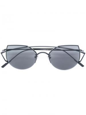 Солнцезащитные очки Thinker Gentle Monster. Цвет: чёрный