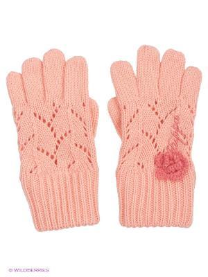 Перчатки HUPPA. Цвет: светло-коралловый