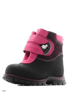 Ботинки Детский скороход. Цвет: черный