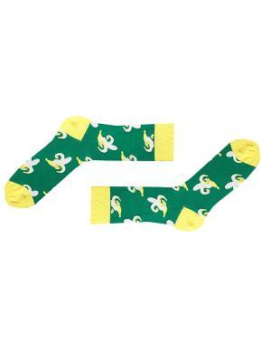 Носки Sammy Icon. Цвет: зеленый, коричневый, желтый, белый