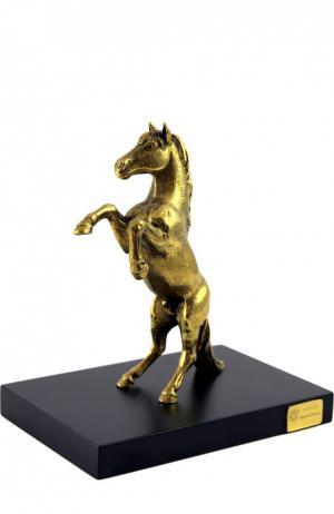 Скульптура Лошадь Tsar. Цвет: золотой