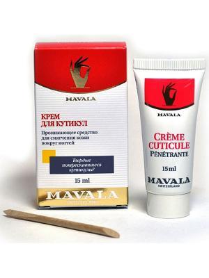 Крем для смягчения кутикулы Cuticle Cream 15ml Mavala. Цвет: прозрачный