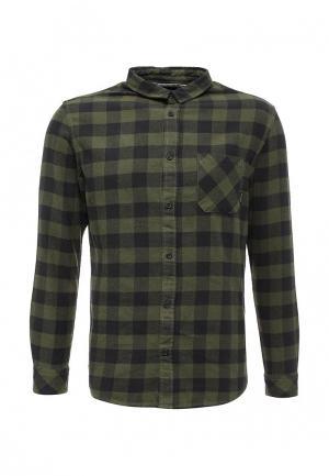 Рубашка Quiksilver. Цвет: хаки