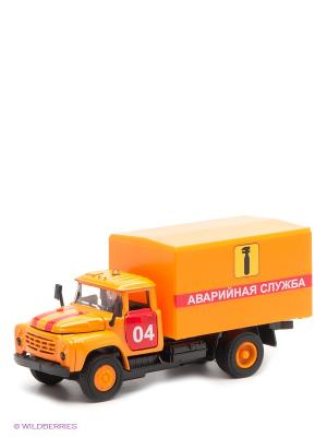 Машина Технопарк  зил 130 аварийная служба. Цвет: оранжевый