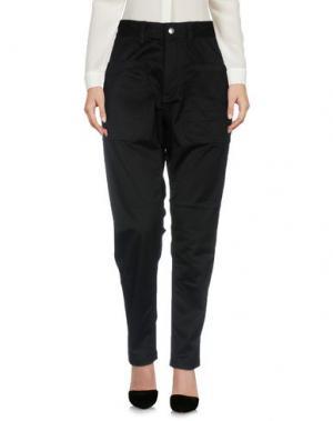 Повседневные брюки WHITE MOUNTAINEERING. Цвет: черный
