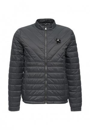 Куртка утепленная Guess Jeans. Цвет: серый