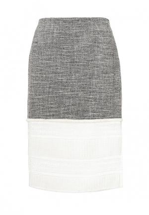 Юбка Trussardi Jeans. Цвет: серый