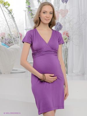 Платье UNIOSTAR. Цвет: фиолетовый