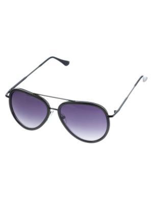 Солнцезащитные очки. Bijoux Land. Цвет: черный