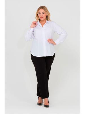 Блуза Интикома. Цвет: белый