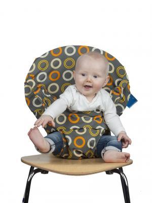 Дорожный детский стульчик Totseat. Цвет: серый, бежевый, желтый, оранжевый