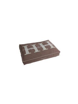 Подушка PURE DUTCH PET DESIGN серо-коричневый L 125*80*15 см для домашних животных Happy House. Цвет: серо-коричневый