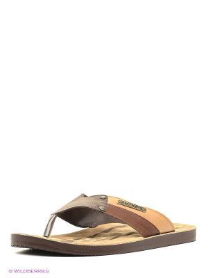 Пантолеты MUYA. Цвет: коричневый