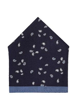 Платок S.OLIVER. Цвет: темно-синий, белый