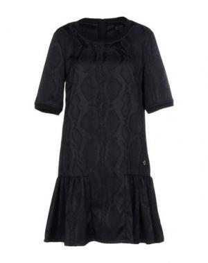 Короткое платье SVNTY. Цвет: черный