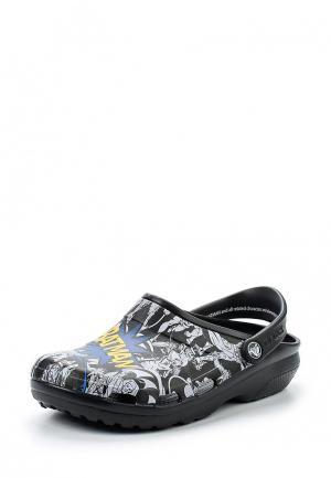 Сабо Crocs. Цвет: черный