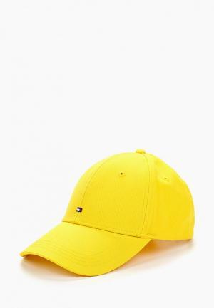 Бейсболка Tommy Hilfiger. Цвет: желтый