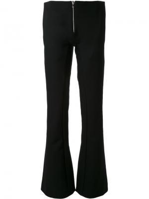 Расклешенные брюки Thomas Tait. Цвет: чёрный