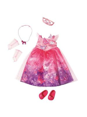 Игрушка BABY born Одежда Сказочная принцесса, кор. ZAPF. Цвет: розовый