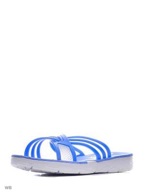 Шлепанцы Mon Ami. Цвет: синий