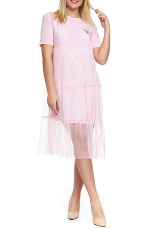 Платье Majaly. Цвет: розовый