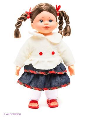Кукла интерактивная Моя Радость, 8 функций, 30 фраз ЗАТЕЙНИКИ. Цвет: белый, бежевый