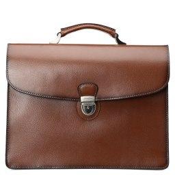 Портфель  2081 коричневый GERARD HENON
