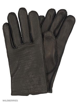 Перчатки мужские Marco Bonne`. Цвет: черный