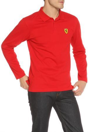 Поло Ferrari. Цвет: красный