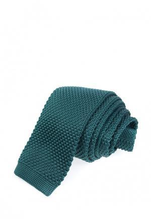 Галстук Churchill accessories. Цвет: бирюзовый
