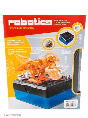 Конструктор Динозавр со светом Amazing Toys. Цвет: оранжевый