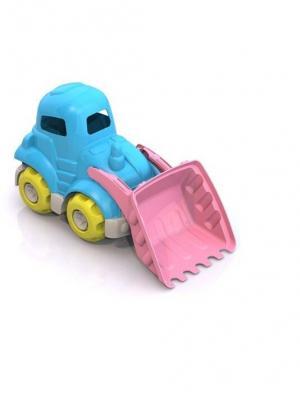 Трактор средний Шкода Нордпласт.. Цвет: голубой