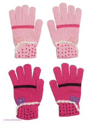 Перчатки FOMAS. Цвет: бледно-розовый, фуксия, розовый, фиолетовый