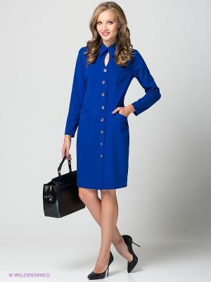 Платье Lussotico. Цвет: индиго